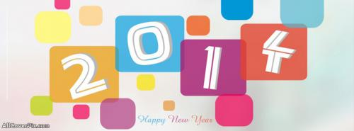 Happy New Year 2014 FB Cover Photos -  Facebook Covers