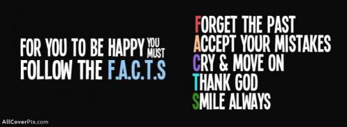 Happy Quote Fb Cover Photos -  Facebook Covers