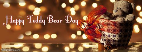 Happy Teddy Day Facebook Covers 2014 -  Facebook Covers