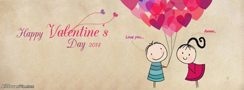Happy Valentines Day Facebook Covers 2014 -  Facebook Covers