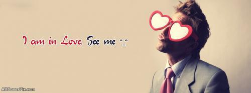 Heart Glasses Boys Facebook Cover Photos -  Facebook Covers