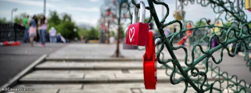 Heart Lock Facebook Cover Photo -  Facebook Covers