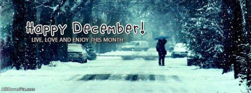 Hello December FB Cover Photos -  Facebook Covers