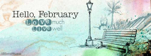 Hello February Facebook Covers -  Facebook Covers