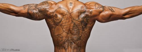 Hunk Tattos Boy Facebook Cover Photo -  Facebook Covers