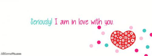 I am in Love with You Cover For Facebook -  Facebook Covers