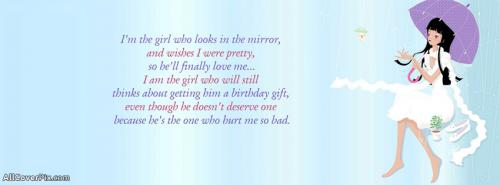 I Am The Girl Facebook Cute Quote Cover Photos Facebook Covers