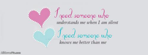 I Need Someone Facebook Cover Photo -  Facebook Covers