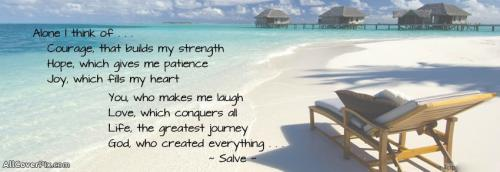 Inspiring Quotes For Facebook Cover Photos -  Facebook Covers