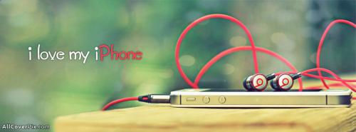 Love My Iphone Cover Photos Facebook -  Facebook Covers
