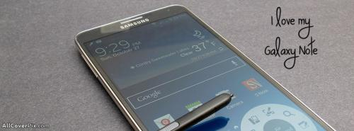 Love My Samsung Galaxy Note Mobiles Facebook Covers -  Facebook Covers
