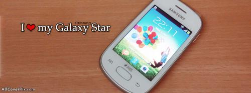 Love My Samsung Galaxy Star Mobiles Facebook Covers -  Facebook Covers