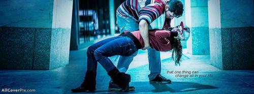 Lovely Couple Dance Facebook Cover Photos -  Facebook Covers