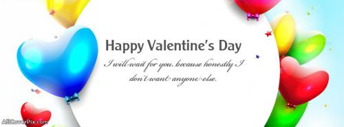 Lovely Happy Valentines Day Facebook Covers -  Facebook Covers