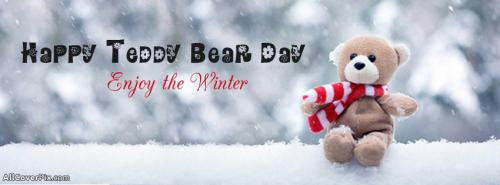 Lovely Teddy Day Facebook Cover -  Facebook Covers