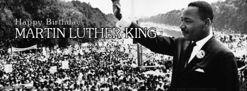 Martin Luther King 20 January Facebook Cover Photos -  Facebook Covers