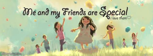 Me and my Friends are Special  Friendship FB Cover -  Facebook Covers