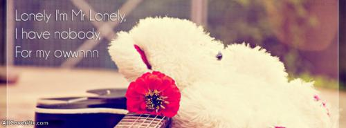 Mr Lonely FB Cover Photo -  Facebook Covers