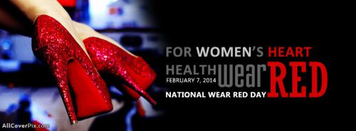 National Wear Red Day United States Facebook Covers -  Facebook Covers