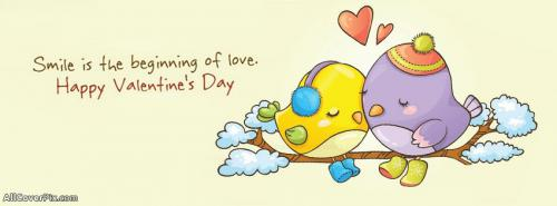 New Cute Happy Valentines Day FB Covers -  Facebook Covers
