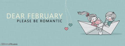 Romantic February Facebook Covers -  Facebook Covers