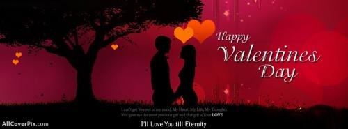 Romantic Valentines Day Facebook Cover -  Facebook Covers
