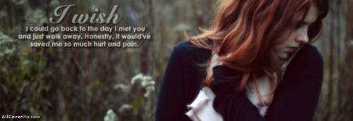 Sad Girl Cover Photos For Facebook Timeline -  Facebook Covers