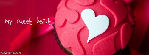 Sweet Heart Facebook Cover Photos -  Facebook Covers