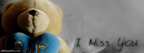 Teddy Bear Miss You Photos For Facebook -  Facebook Covers