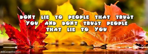 Trust Quotes Photos For Facebook Timeline -  Facebook Covers