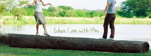 With You Facebook Couple Cover Photo -  Facebook Covers